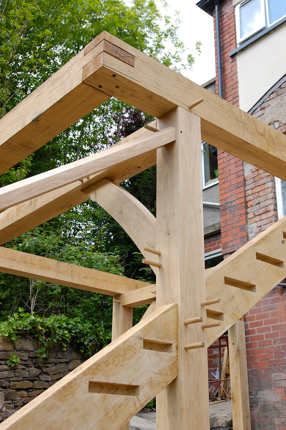 Extension on stilts