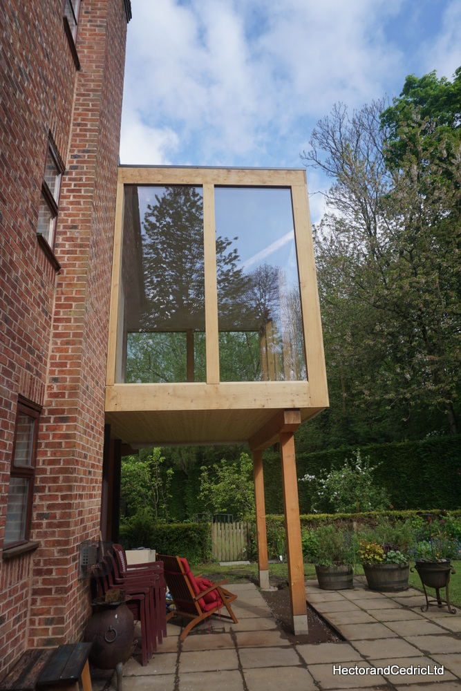 Raised Glazed Extension