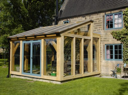 Extensions - wood framed extensions - Hector and Cedric