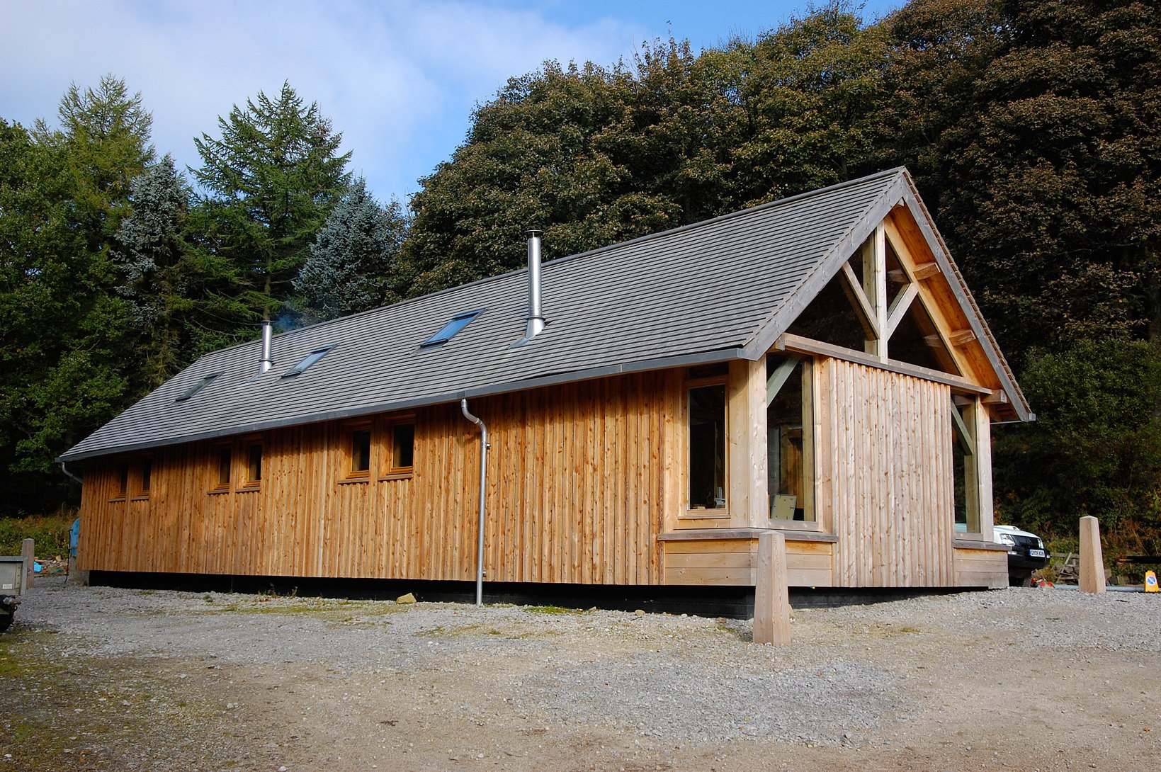 Larch Timber Framed Workshop