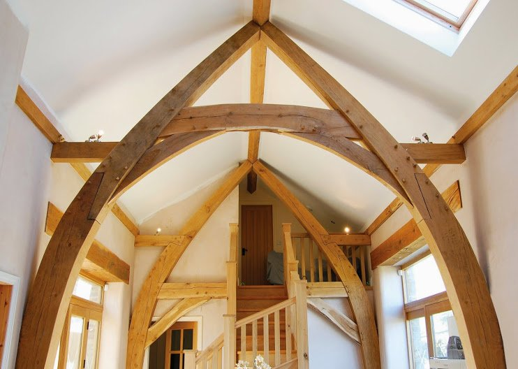 Green Oak Cruck Frame