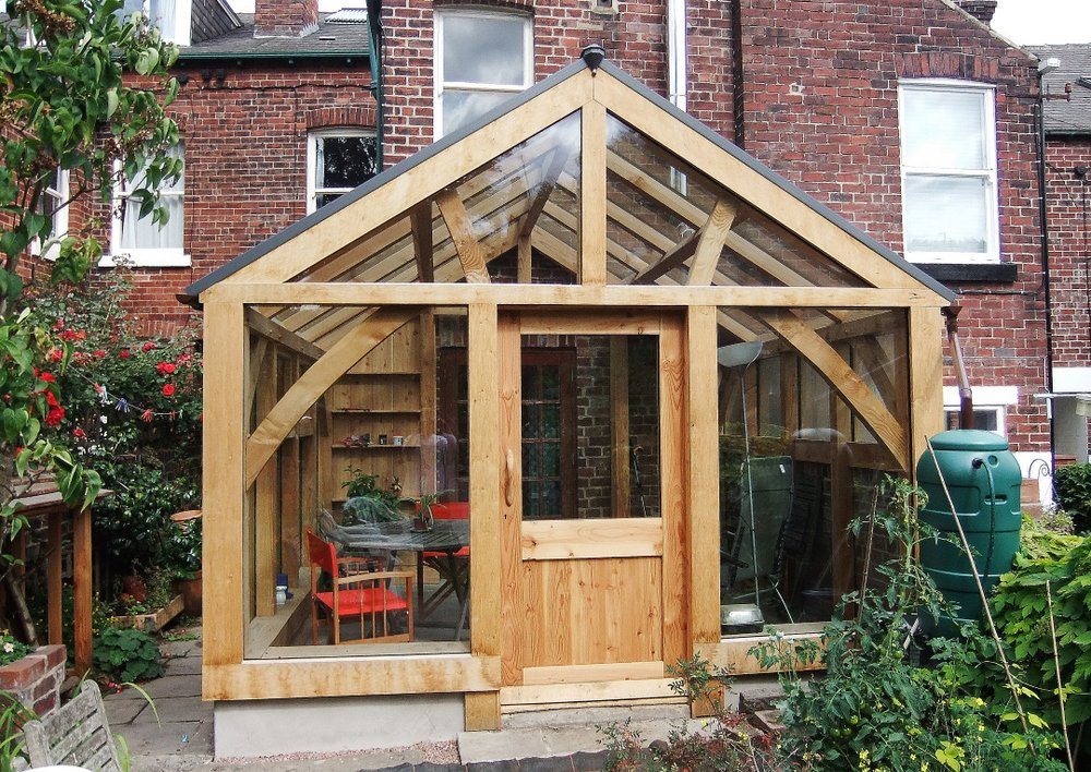 Timber Framed Conservatory Hector And Cedric