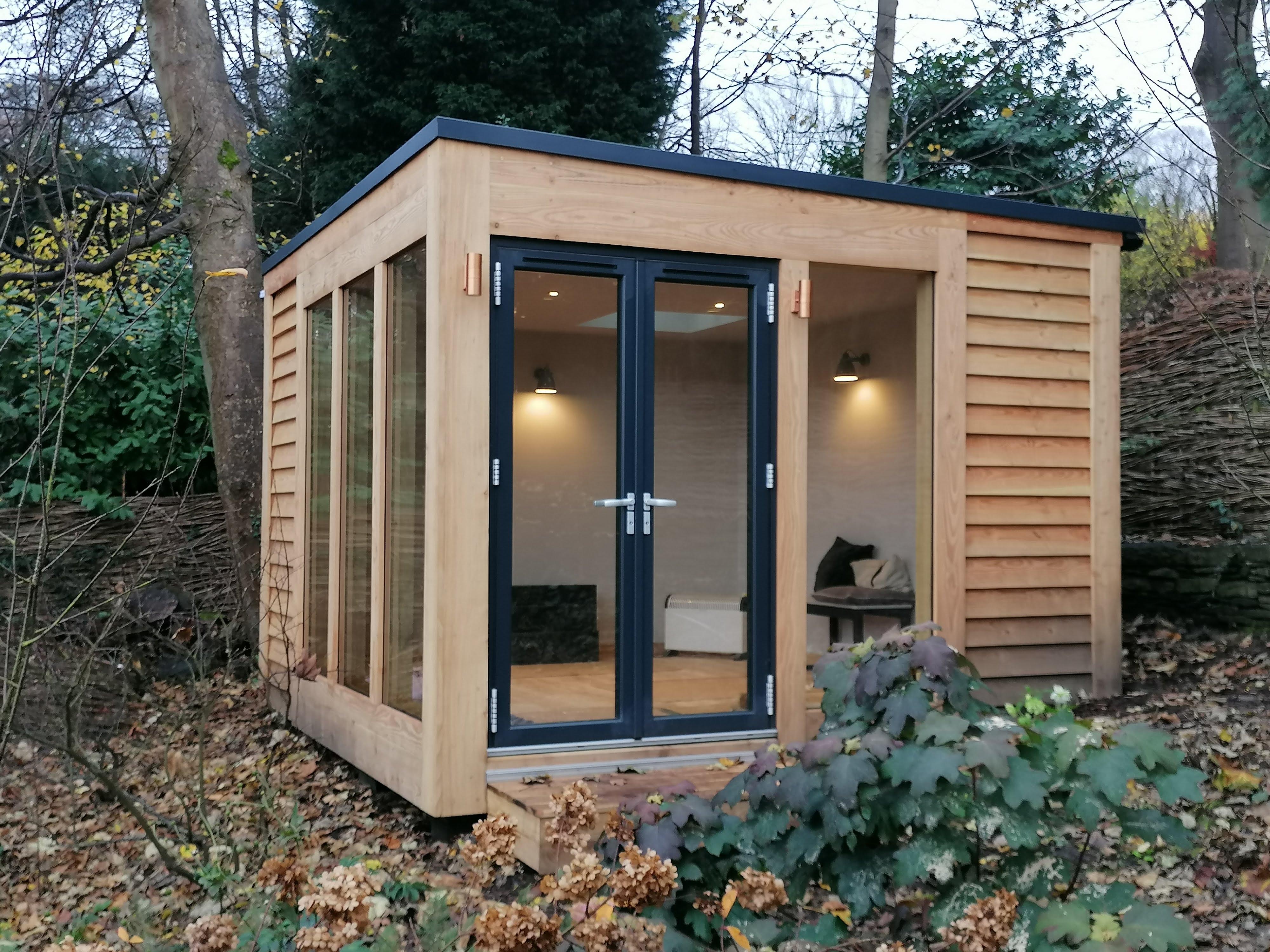 Oak Framed Garden Office