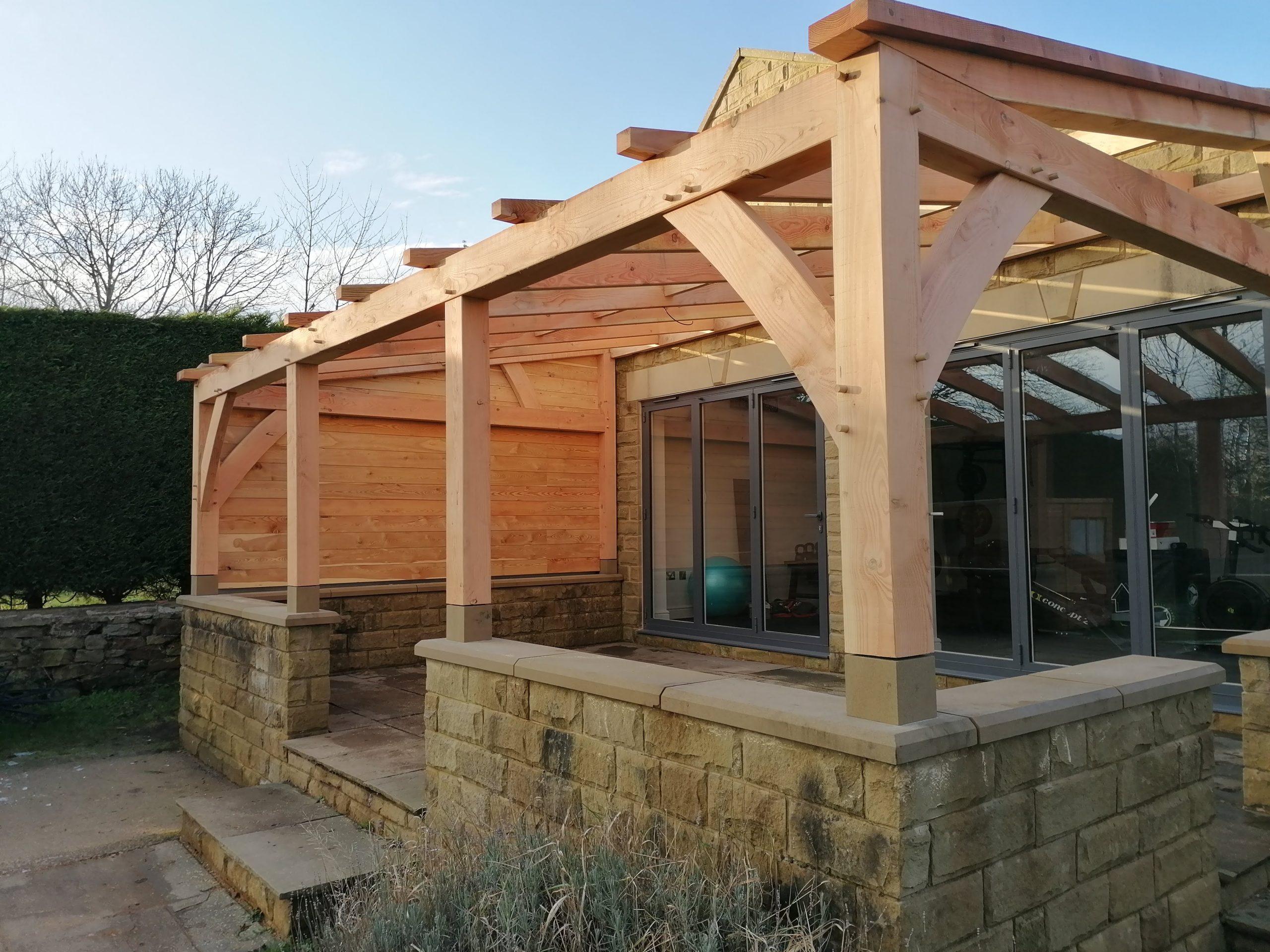 Timber Frame Veranda