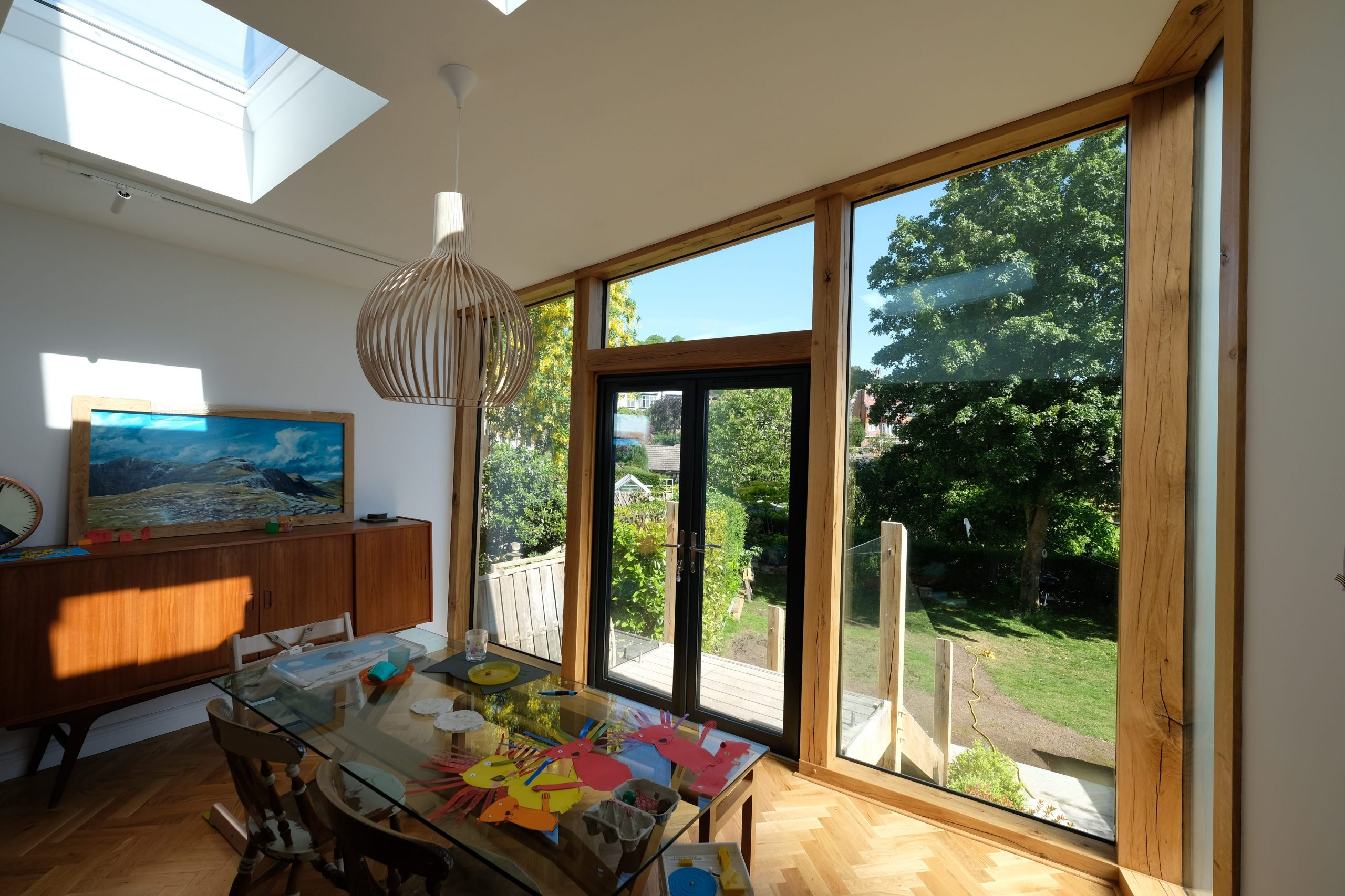 Inside Oak Extension