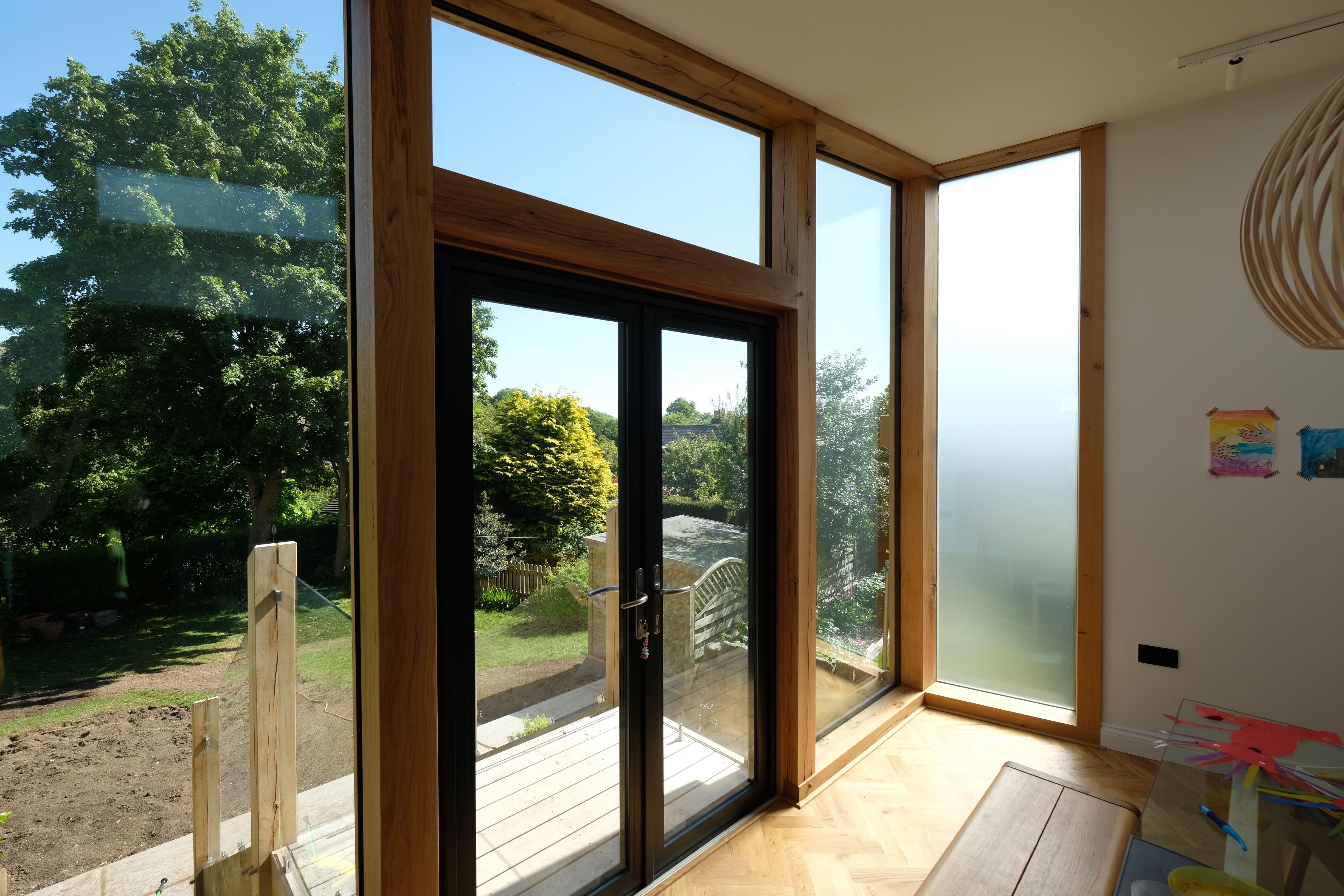 Inside Oak Extension