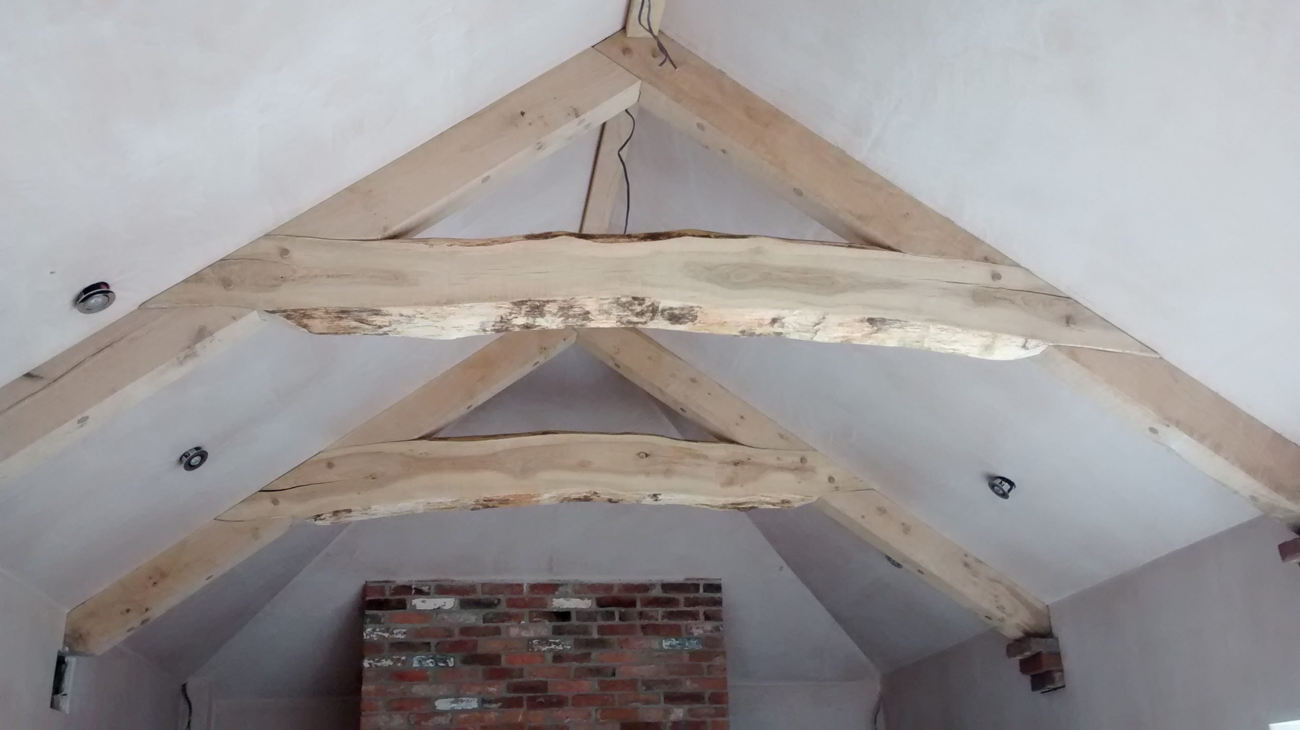 Arched Oak Truss