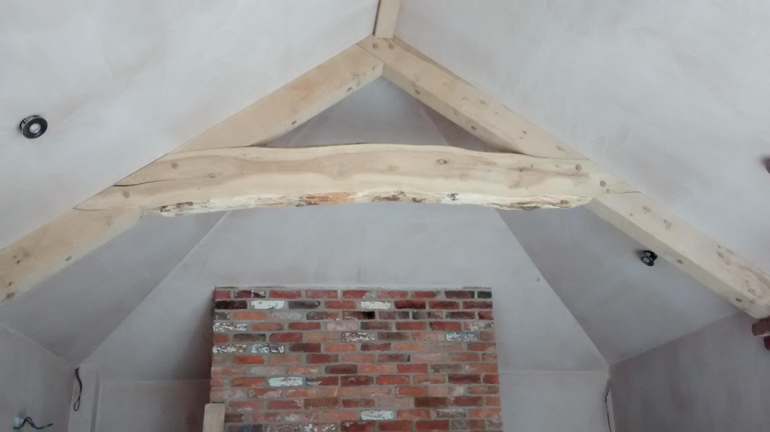 Arched Oak Truss