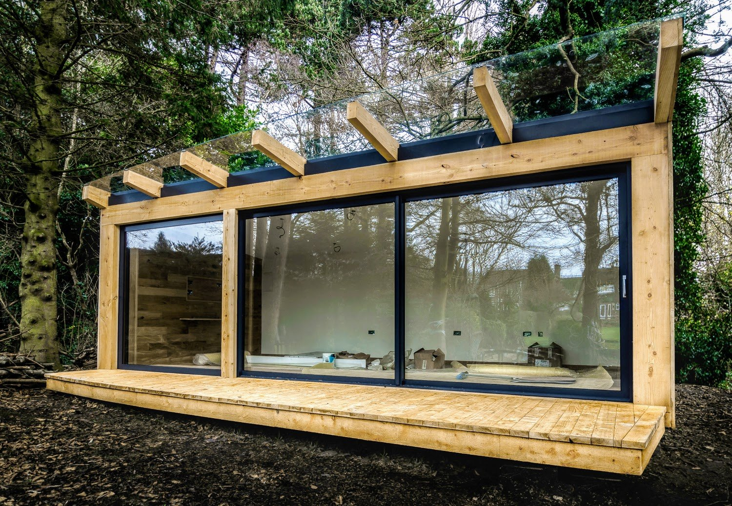 Timber Framed Garden Office Sheffield