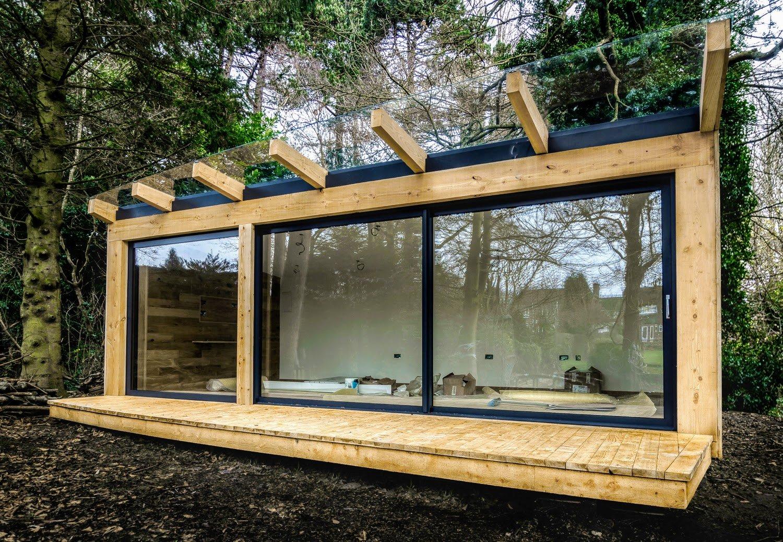 Timber Framed Garden Office Sheffield