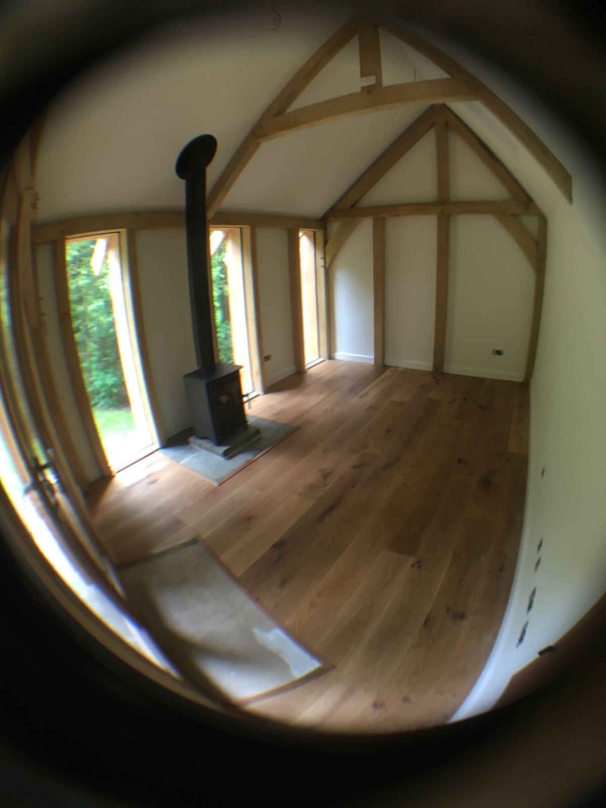Oak Framed Garden Cottage